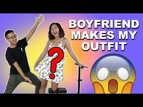 MY BOYFRIEND TRANSFORMS A DRESS FOR ME | Coolirpa