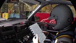 Dirt Rally PSVR race
