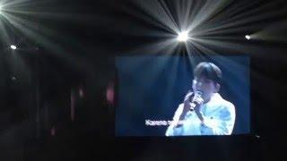 160102 [FANCAM] KRY phonograph Jakarta - ryeowook separuh aku