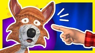 Juguemos en el Bosque | Encuentra al Lobo #01 | A Jugar