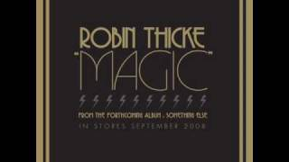 Robin Thicke - Magic (lyrics)