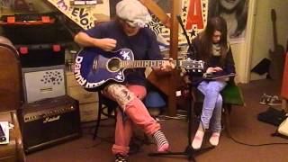 The Upsetters - Return of Django - Acoustic Cover - Danny McEvoy & Jasmine Thorpe
