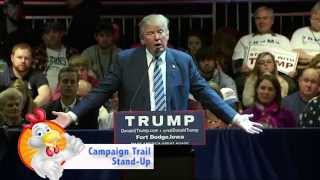 Donald Trump with a Laugh Track is Hilarious!