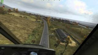 Epic helicopter flight (Arma2 OA)