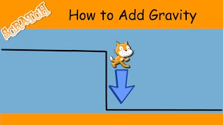 How to add gravity in Scratch