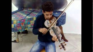 Paper Violin - Unique Recycled musical instruments - www.artecoart.com