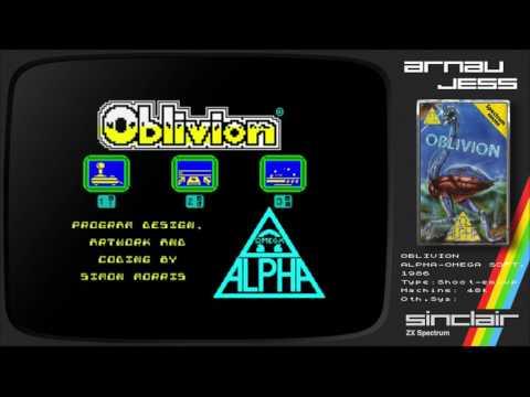 OBLIVION Zx Spectrum by Alpha-Omega Soft.