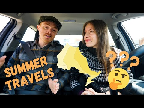 Life in CANADA Vlog 🇨🇦 + Our (Potential) SUMMER TRAVEL PLANS in Ontario! 🚐🧐