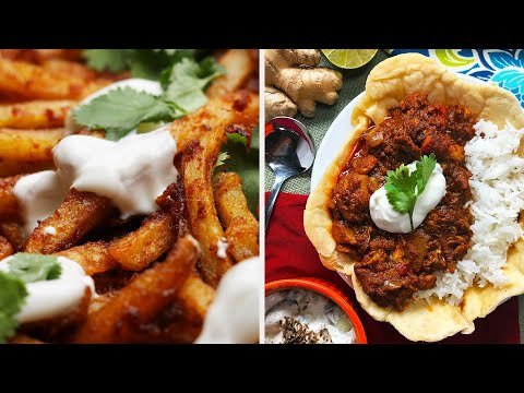 3-Course Indian-Inspired Meal ? Tasty Recipes