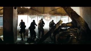 Transformers: El lado oscuro de la luna (2011) Optimus Prime vs Shockwave (HD latino)