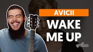 videoclase Wake Me Up (aula de violão simplificada)