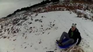Downhill con trineo - Teruel
