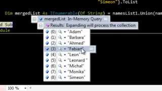 How to merge two Linq queries?