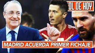 Madrid acuerda primer fichaje del 2019 I Así va la Champions: Lewy y Messi goleadores I GOL DE HOY