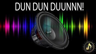 """Dramatic Bass """"Dun Dun Dun"""" Sound Effect"""