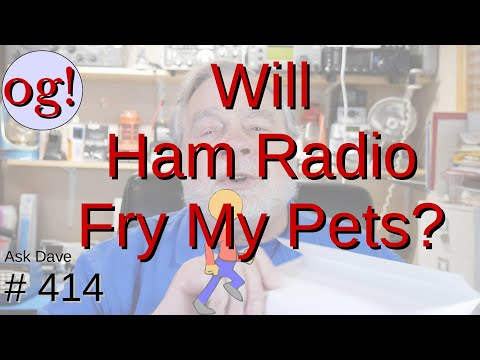 Can Attic Antennas Fry Pets? (#414)