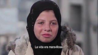 """Saja, 12 años: """"Mis amigos murieron en los bombardeos"""""""