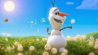 Frozen - Olaf Verano Letra en castellano