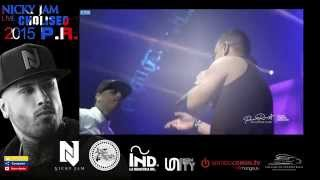 """Adicto a tus redes - Tito El Bambino Ft. Nicky Jam  """"Dimelo Papi"""" The Concert   Choliseo P.R. 2015"""