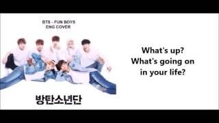 BTS - FUN BOYS - English Parody [SUPERBOYS]