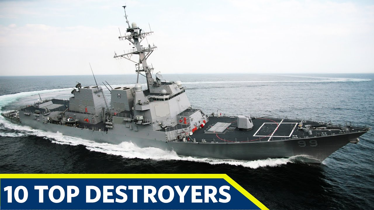 Top 10 Most Powerful Destroyers In The World in 2020
