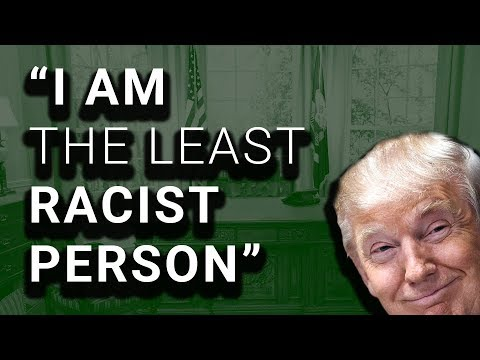 Trump Denies Being Racist After Years of Racist Comments