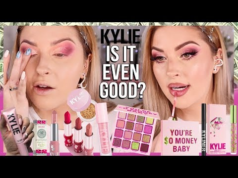 "IS IT EVEN GOOD"" ? Kylie Cosmetics BIRTHDAY COLLECTION 2019"