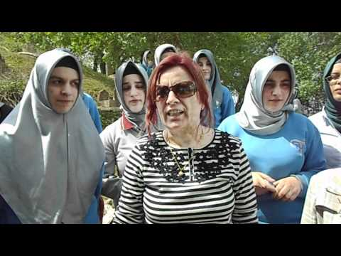 TEPEBAĞ anadolu imam hatip kız lisesi, camili köy gezisi, üç ok höyük mezarlık