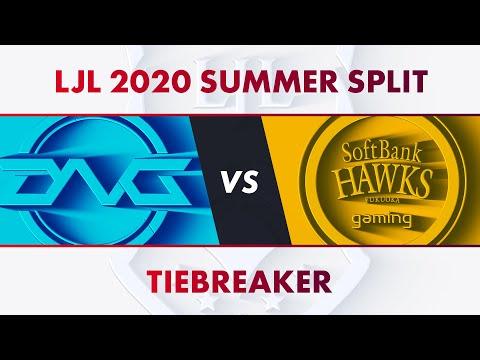 DFM vs SHG|LJL 2020 Summer Split Tiebreaker