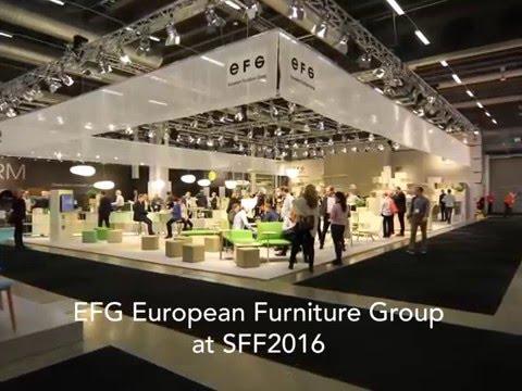 EFG at Stockholm Furniture Fair 2016