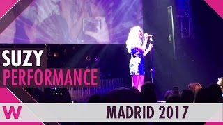 "Suzy ""Quedate Conmigo"" (Spain Eurovision 2012) LIVE @ Welcome ESPreParty 2017"