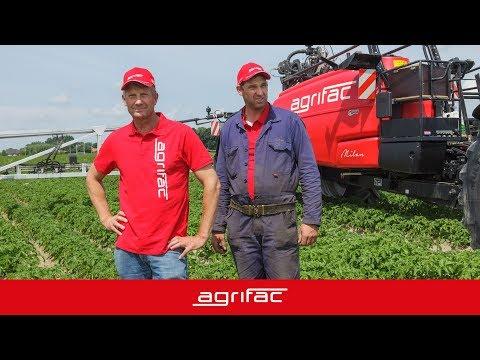 Gebruikerservaring Agrifac Milan getrokken spuit van Noordermeer (NL)