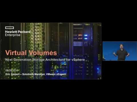 VMworld 2016: STO9617 - Containers & VVols