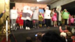 panda caricas festa de natal