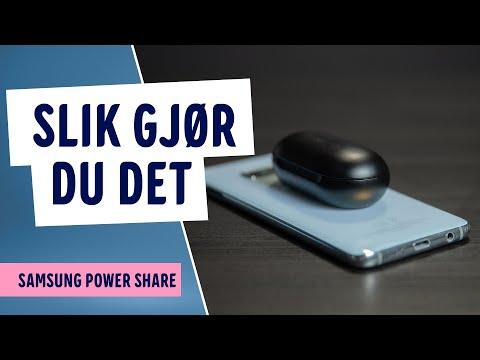 Hvordan lade med telefonen - Samsung Galaxy S10e