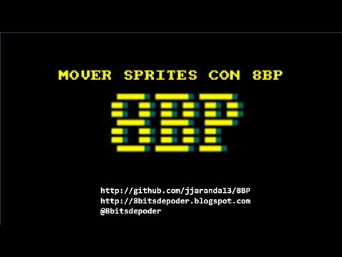 Mover sprites con 8BP