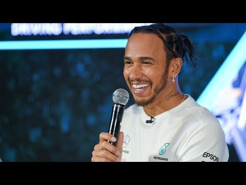 Lewis Hamilton Tours the PETRONAS Towers