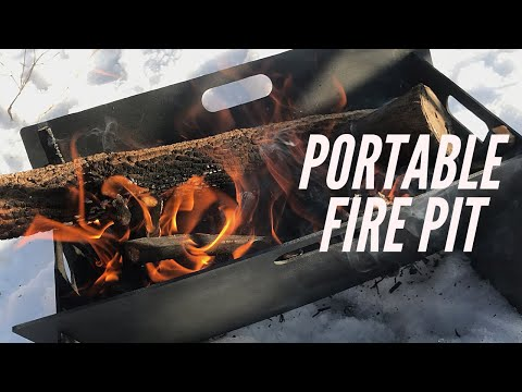 Lifedoo Portable Fire Pit: I Was Actually Quite Impressed - Great for Car Camping, Backyard Fires