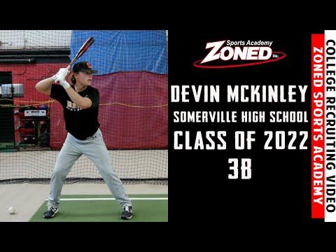 Devin McKinley College Recruiting Video