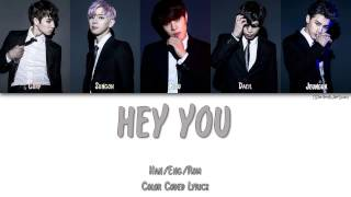24K - HEY YOU (오늘 예쁘네) [Color Coded Han|Rom|Eng]