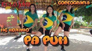 Mãe e filha dançam juntas - Pa Pum - Mc Kevinho - Coreografia - Eclosão