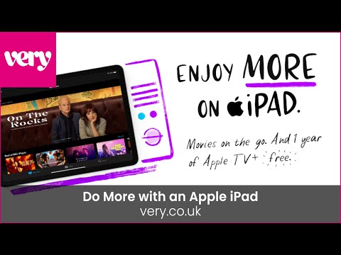 very.co.uk & Very Discount Code video: Do More with an Apple iPad x Very