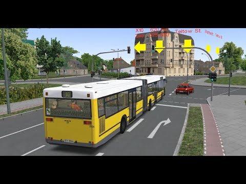 Omsi 2  Berlijn X10 X10 lijn  Bus gaat kapot stuk Livestream