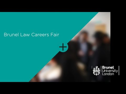 Law Careers Fair 2018 | Brunel University London
