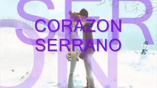 Enseñame a Olvidar Corazon Serrano  (letras)