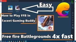 How to install garena free fire on tencent gaming buddy
