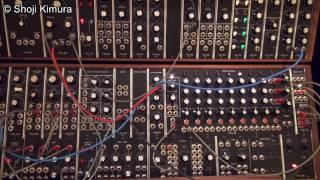 Moog System 55 冨田勲風 ④シーケンスアルペジオの音色(トミタシーケンス)Isao Tomita style Sequence Arpeggio