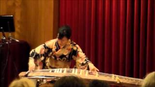 "Japanese Koto Player Mitsuki Dazai performs ""Daybreak"""