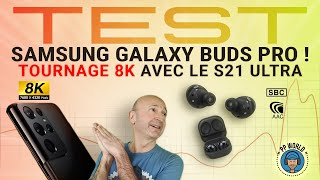 vidéo test Samsung Galaxy Buds Pro par PP World