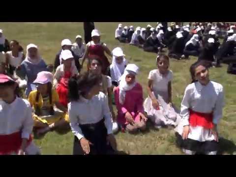 أنشودة شدو الحبال لزهرات اليمن على هامش بروفات الكشافة والمرشدات اليمنية لحفل إيقاد الشعلة 25-9-2014